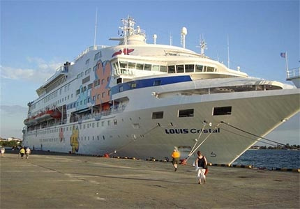 The Cuba Cruise ship, Louis Cristal