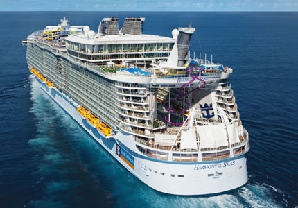 Royal Caribbean's Harmony of the Seas is the world's largest cruise ship