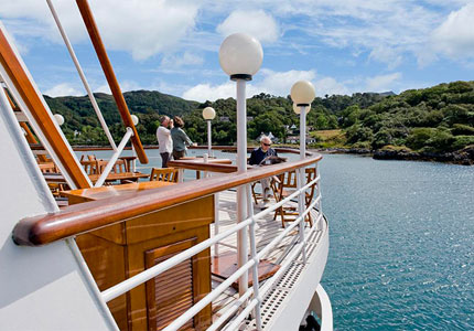 Hebridian Island Cruises, one of GAYOT's Top 10 Cruise Lines