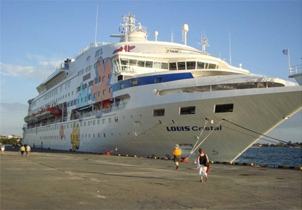 The Cuba Cruise ship, Louis Cristal