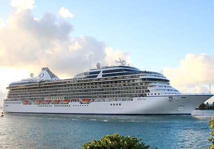 Sail away with Oceania Cruises, one fo GAYOT's Top 10 Caribbean Cruises