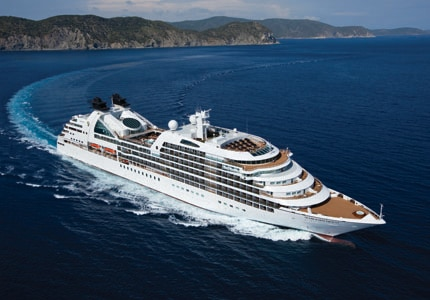 The Seabourn Quest Aerial Ship