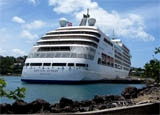Silversea's newest and largest ship, Silver Spirit