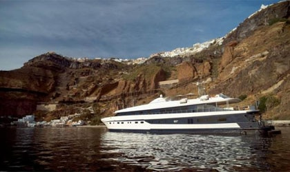 M/Y Harmony G, part of the Variety Cruises fleet