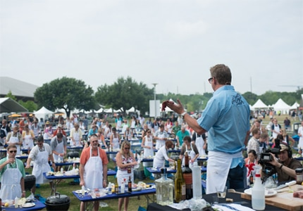Premier chefs conduct tastings and culinary demonstrations at the Austin Food + Wine Festival