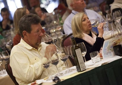 Wine tasting at Taste of Vail