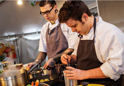 Get a taste of Southern cuisine at the Charleston Wine and Food Festival