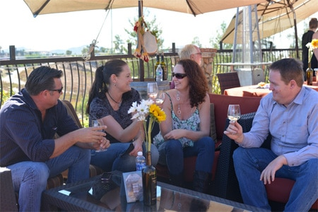 A toast under the sun at the Harvest Wine Celebration in Temecula, CA