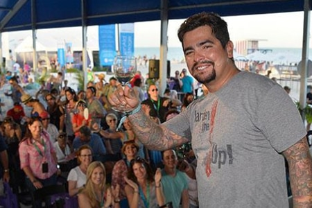 Chefs, including Aaron Sanchez, host events during The South Beach Wine & Food Festival