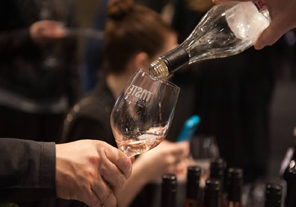 Taste food and wine from local chefs and wineries at Taste Washington in Seattle