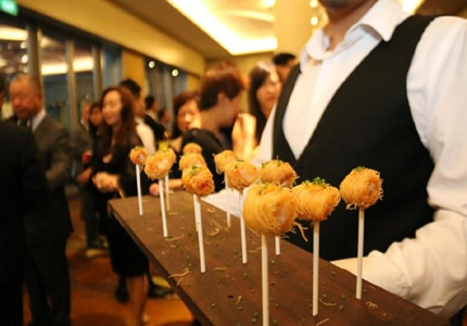 Haute cuisine at the World Gourmet Summit in Singapore