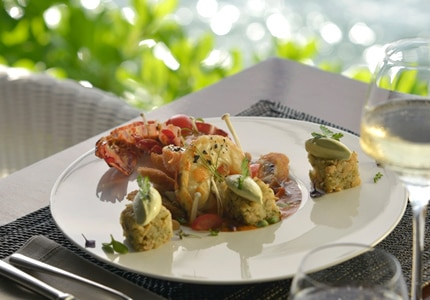 Dining event at the Taste of Saint-Barth Gourmet Festival in the Caribbean