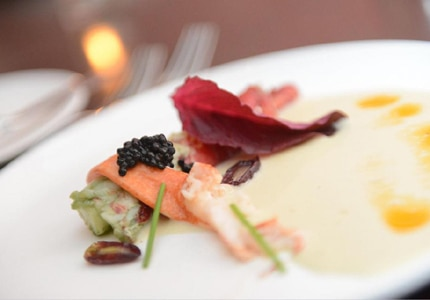 Some of the meals served at the 18th Annual World Gourmet Summit