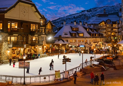 Beaver Creek in Colorado hosts an annual event featuring gourmet food, spirits and skiing galore