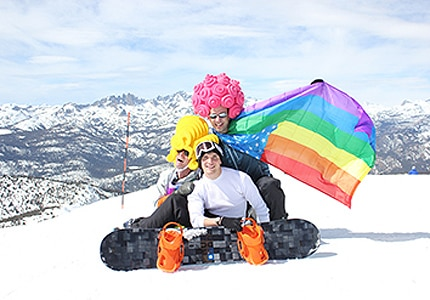 Hit the slopes then hit the dancefloor at this fun-packed Gay Ski Week on Mammoth Mountain in California