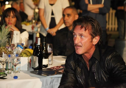 Sean Penn attends the California Winemaster event held on the Warner Bros. Studio backlot in Los Angeles, California