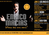 French musician Enrico Macias will give a concert in Miami on June 8th
