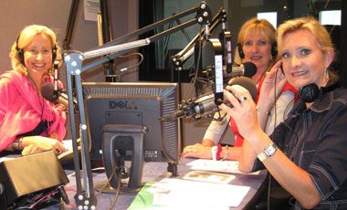 Bikini Chef Susan Irby with Sophie Gayot