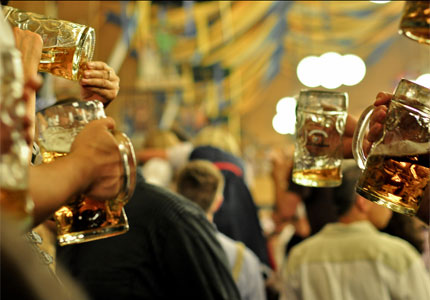 Raise a glass to Oktoberfest 2015! (photo by Thomas Sauzedde)