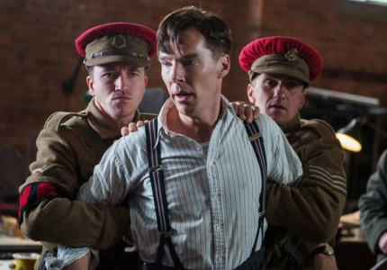 Benedict Cumberbatch is nominated for Best Actor for his role as Alan Turing in The Imitation Game