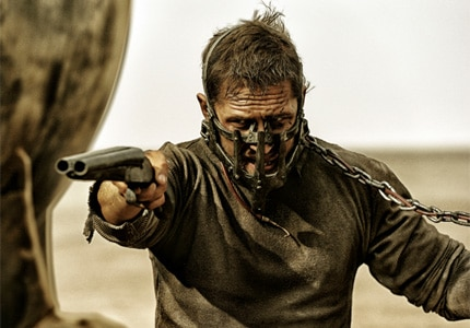 Tom Hardy puts up one hell of a fight in Mad Max: Fury Road