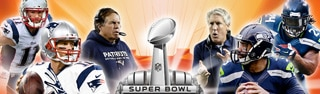 The New England Patriots and the Seattle Seahawks face off on February 1 in the 49th edition of the Super Bowl