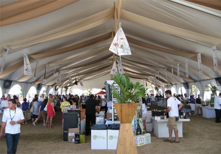 Attendees at The Saborea Puerto Rico event