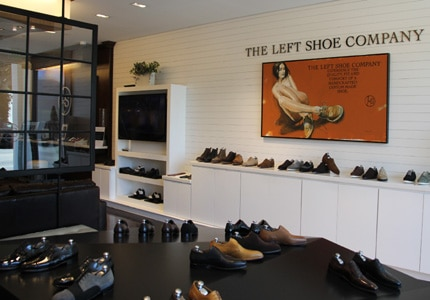The Left Shoe Company has opened a flagship store in Los Angeles