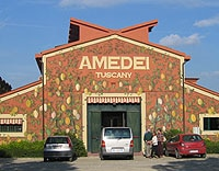 The Amedei Plant in Tuscany