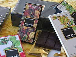 Organic chocolate made from Criollo beans