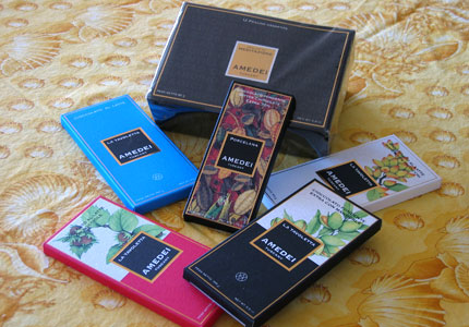 Organic Amedei chocolate is made from the finest Venezuelan Criollo beans