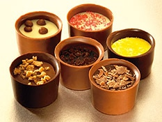 Lily O'Brien's Chocolate Desserts Collection features bite-size treats with classic flavores like Lemon Sorbet and Tiramisu