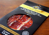 Read GAYOT's review of Cinco Jotas Jamón Ibérico de Bellota, one of the finest hams in the world