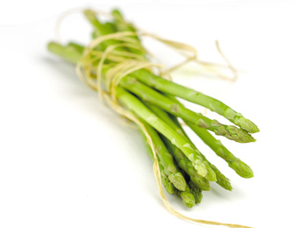 Asparagus contains high concentrations of cancer-fighting antioxidants, such as vitamins A, C and E