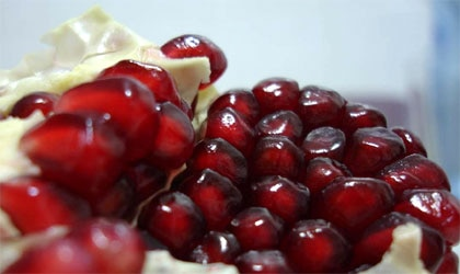 Pomegranates are rich in valuable antioxidants