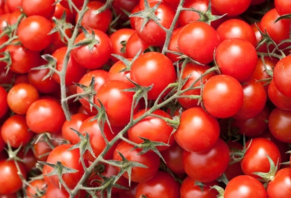 Tomatoes are packed with the antioxidant lycopene