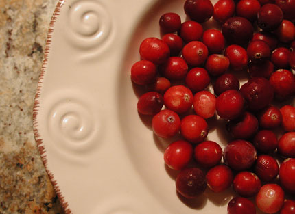 Cranberries are full of antioxidants that help fight major diseases and promote longevity