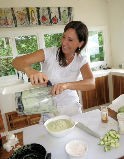 Cook with healthy lifestyle expert Diana Stobo