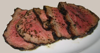 Grass fed steak tends to be leaner than most conventional cuts of meat
