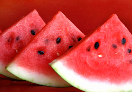 Watermelons are one of GAYOT's previously featured Top 10 Romantic Foods