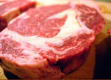 USDA beef grades refer primarily to the amount of fat marbling in the muscle