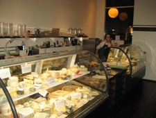Andrew Steiner in his Santa Monica cheese store