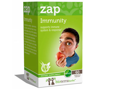 Support your immune system with Immunity (zap) by BioTerra Herbs