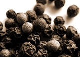 Black pepper helps rid the body of harmful toxins