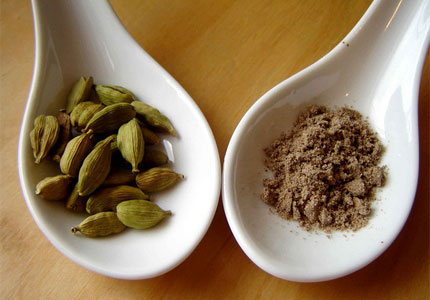 Cardamom works equally well in pungent or sweet dishes (image by Flickr user Michael Newman)