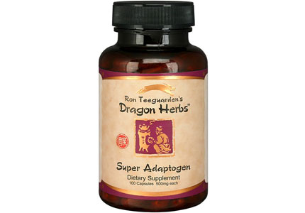 "Full of  ""super adaptogens,"" Dragon Herbs helps your body adapt to physical and mental stress"
