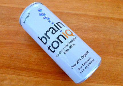 Formulated out of plant extracts and natural compounds, Brain Toniq is a non-caffeinated think tonic