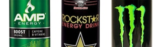 Energy drinks utilize caffeine as well as natural supplements like guarana and ginseng to give users a boost