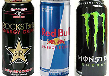Rockstar, Red Bull and Monster are the three most popular energy drinks in the U.S.
