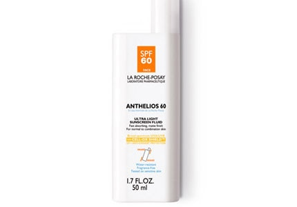 La Roche-Posay's Anthelios SPF 60 contains Senna Alata, an anti-oxidant complex from the medicinal candle bush tree